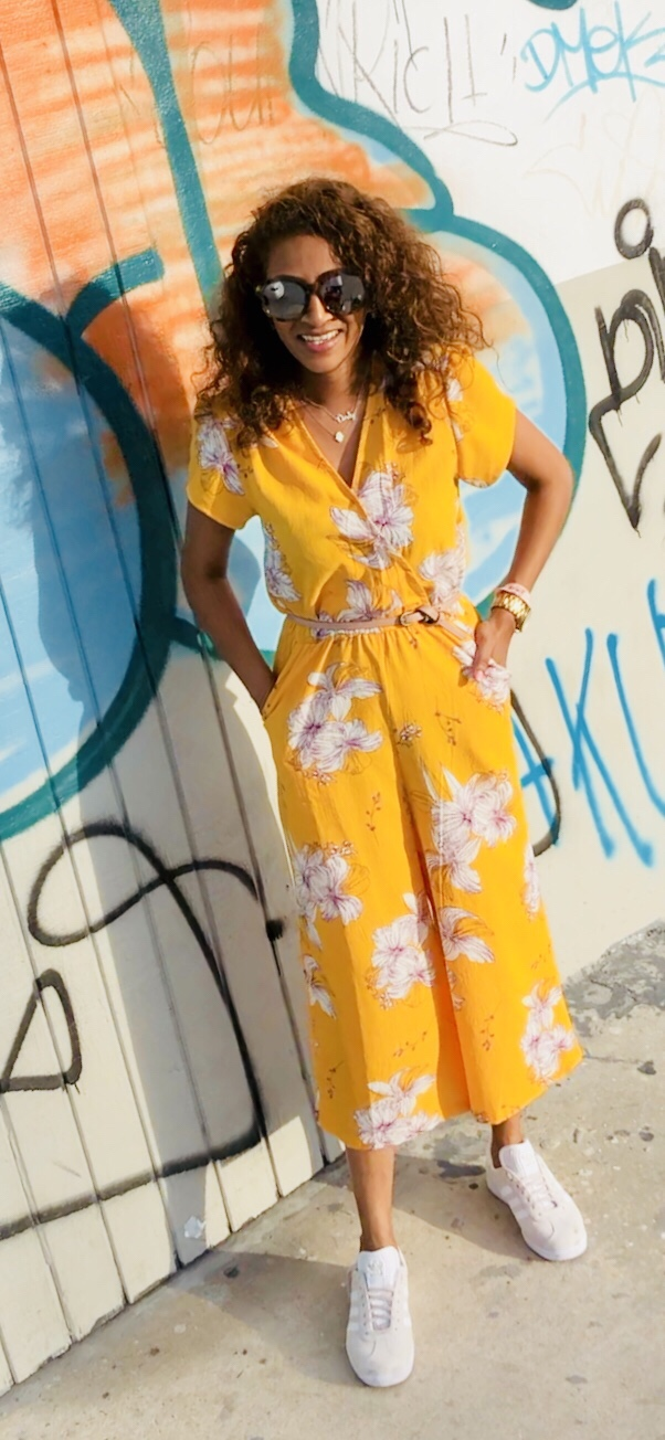 Standout in Vibrant Yellows with this Summer ReadyJumpsuit