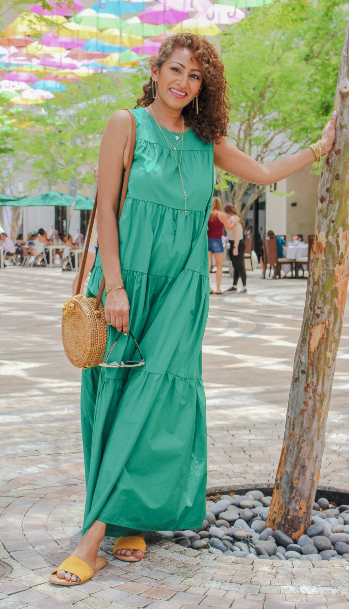 Maxi Dress Two Ways :: Perfect for an Afternoon LunchDate