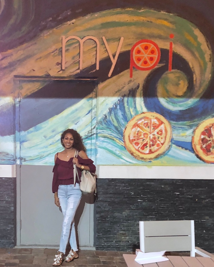 local date night Spot for a Movie & Custom Pizza at MyPi